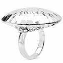 8.20 Grams .925 Sterling Silver Hollow Ring