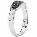 3.30 Grams Marcasite .925 Sterling Silver Ring
