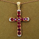 3.63CTW Genuine Rhodolite 14K Yellow Gold Plated .925 Sterling