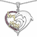 Mother's Day Special: 0.21CTW Genuine Created Ruby .925 Ster