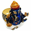 16.70 Grams Gold Plated .925 Sterling Silver Multicolor Enam
