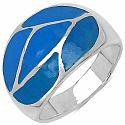 8.30 Grams Mother Of Pearl .925 Sterling Silver Ring
