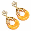 Rajasthani Jewellery 21.00 Grams Multistone Gold Plated Dang
