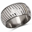 White And Silver Toned Incredible Bangle For Women