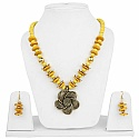 Gold Plated Tribal Style Fashion Necklace Set For Women Ador