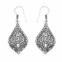 GLEAM TOUCH 6.8 Grams Oxidised Metal Alloy Earrings