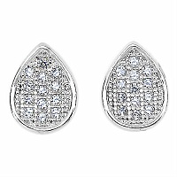 1.10 Grams Micro Pave Setting American Diamond Gold Plated C