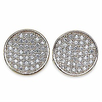 2.00 Grams Micro Pave Setting American Diamond Gold Plated C