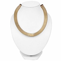Gold Plated Spring Trillion Shape Hasli Style Fashion Statem