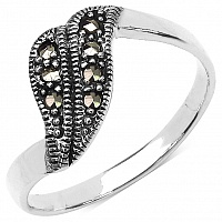2.20 Grams Marcasite .925 Sterling Silver Ring