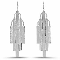 Silver Plated Dangle Earrings For Women