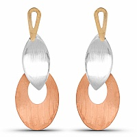 Multi Tone Dangle Earrings For Women