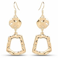 Alloy Metal Dangle & Drop Earrings For Women