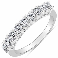 2.51CTW White Cubic Zirconia .925 Sterling Silver Ring