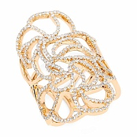 1.20CTW White Diamond 14K Yellow Gold Ring