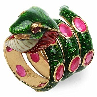20.80 Grams Ruby Gold Plated .925 Sterling Silver Snack Shape G