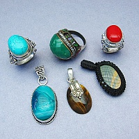 KLG Mega Combo Pack of 6 Unique Jewellery Pcs, MRP Rs. 5,250/-