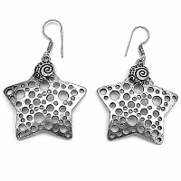 11.70 Grams Star Shape Earrings